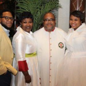 Bishop, Lady & Family